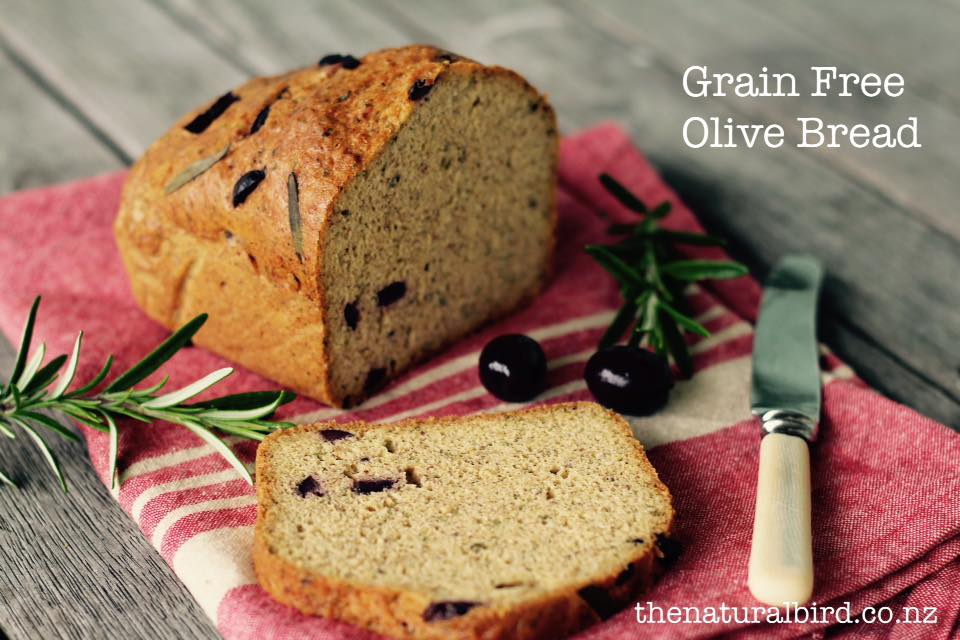 Grain Free Olive Bread