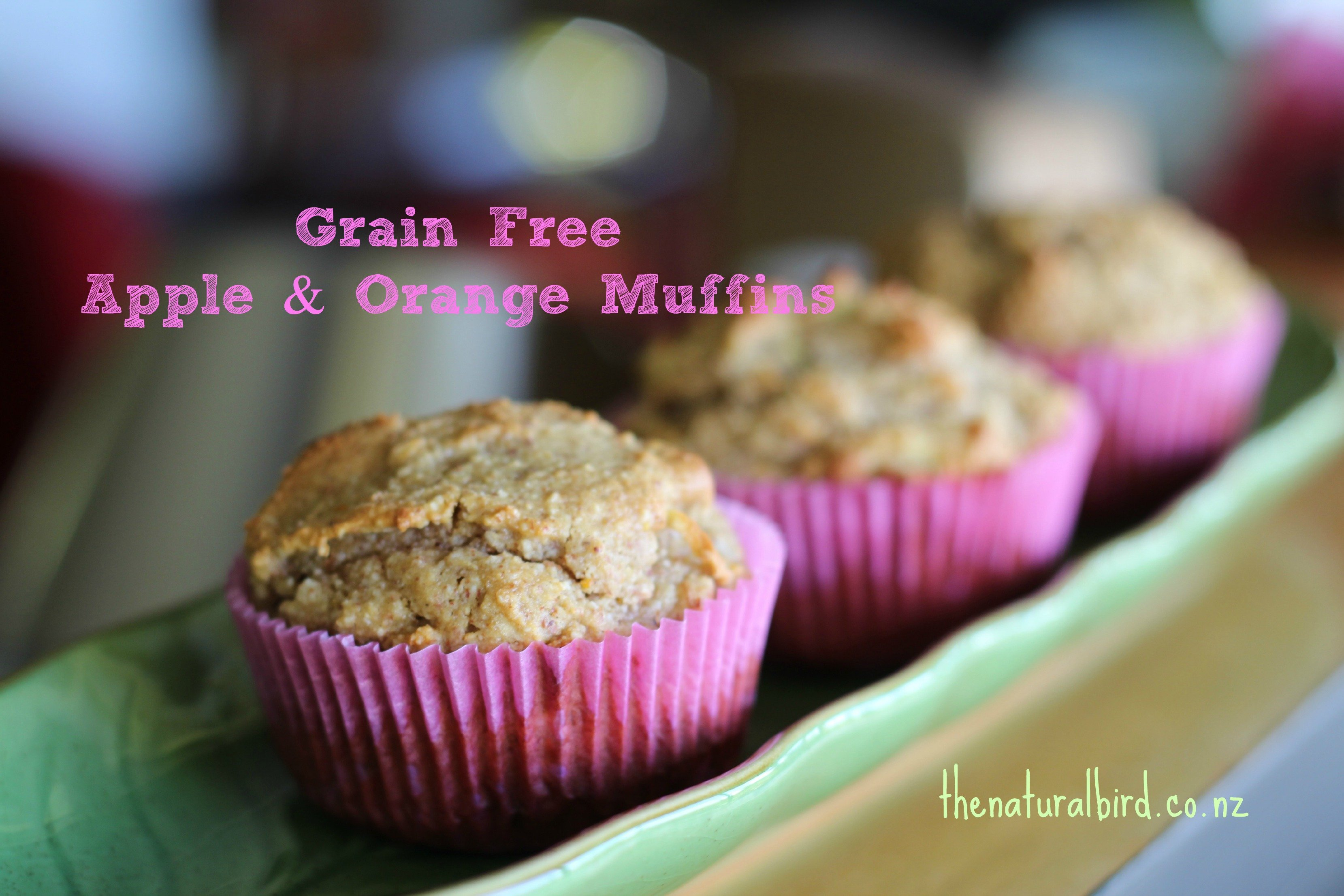 Simply good grain free orange & apple muffin recipe