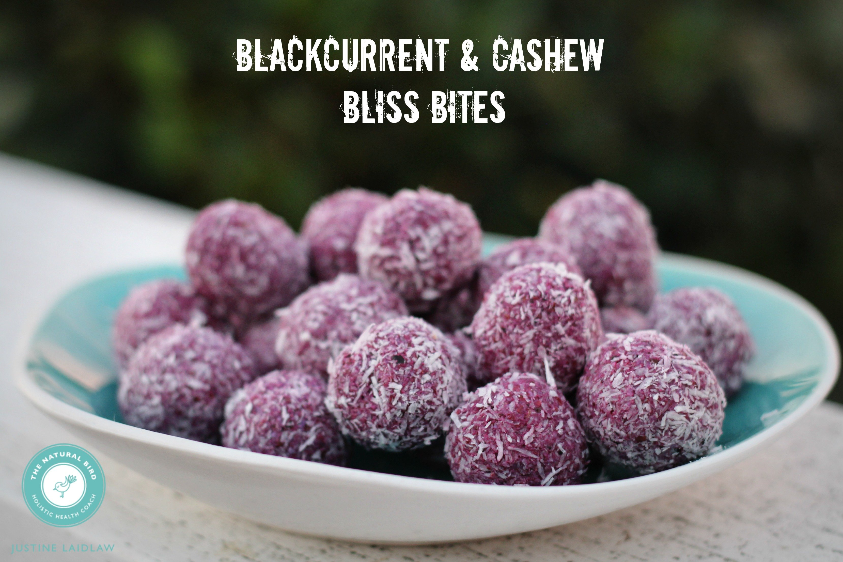 Blackcurrent & Cashew Bliss Bites